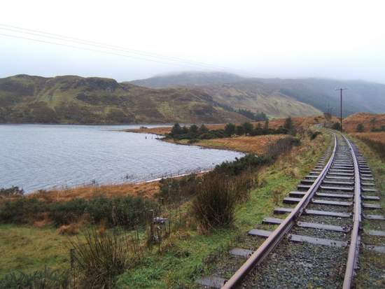 Old railway line in County Donegal