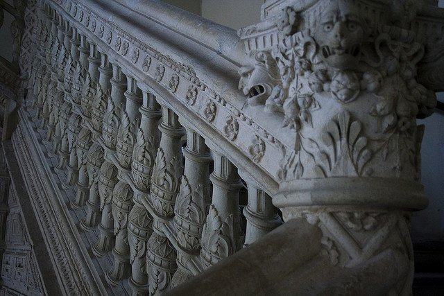 Toledo decorative stair bannister