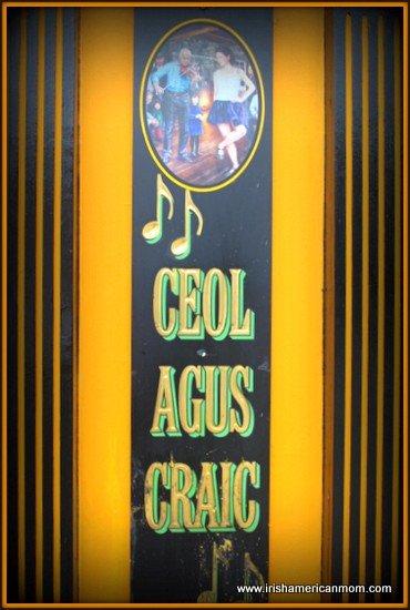 Ceol agus Craic
