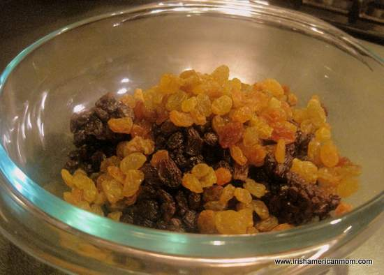 Dried Fruit In Bowl