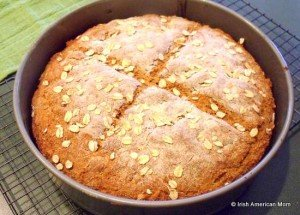 Irish Brown Bread (Whole Wheat Loaf)