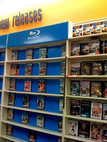 Video Store Shelves