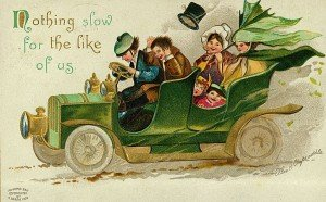 Vintage Photo - Irish Car