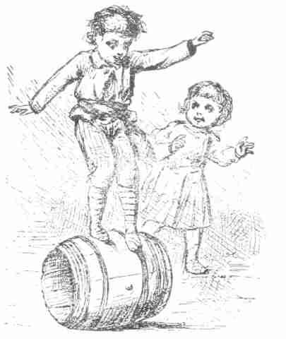 vintage barrel walk