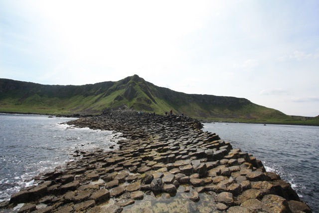 The Giant's Causeway - disappearing path