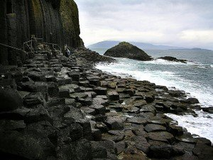 Isle of Staffa - Path to Fingal's Cave