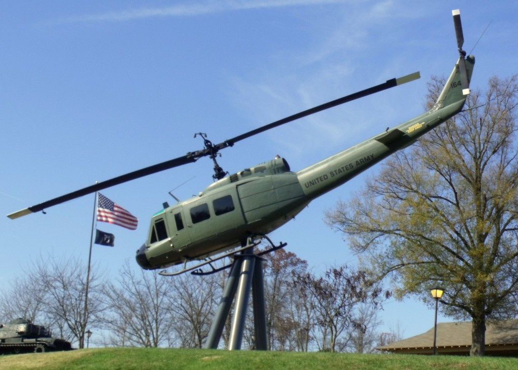 Veteran's Park Helicopter