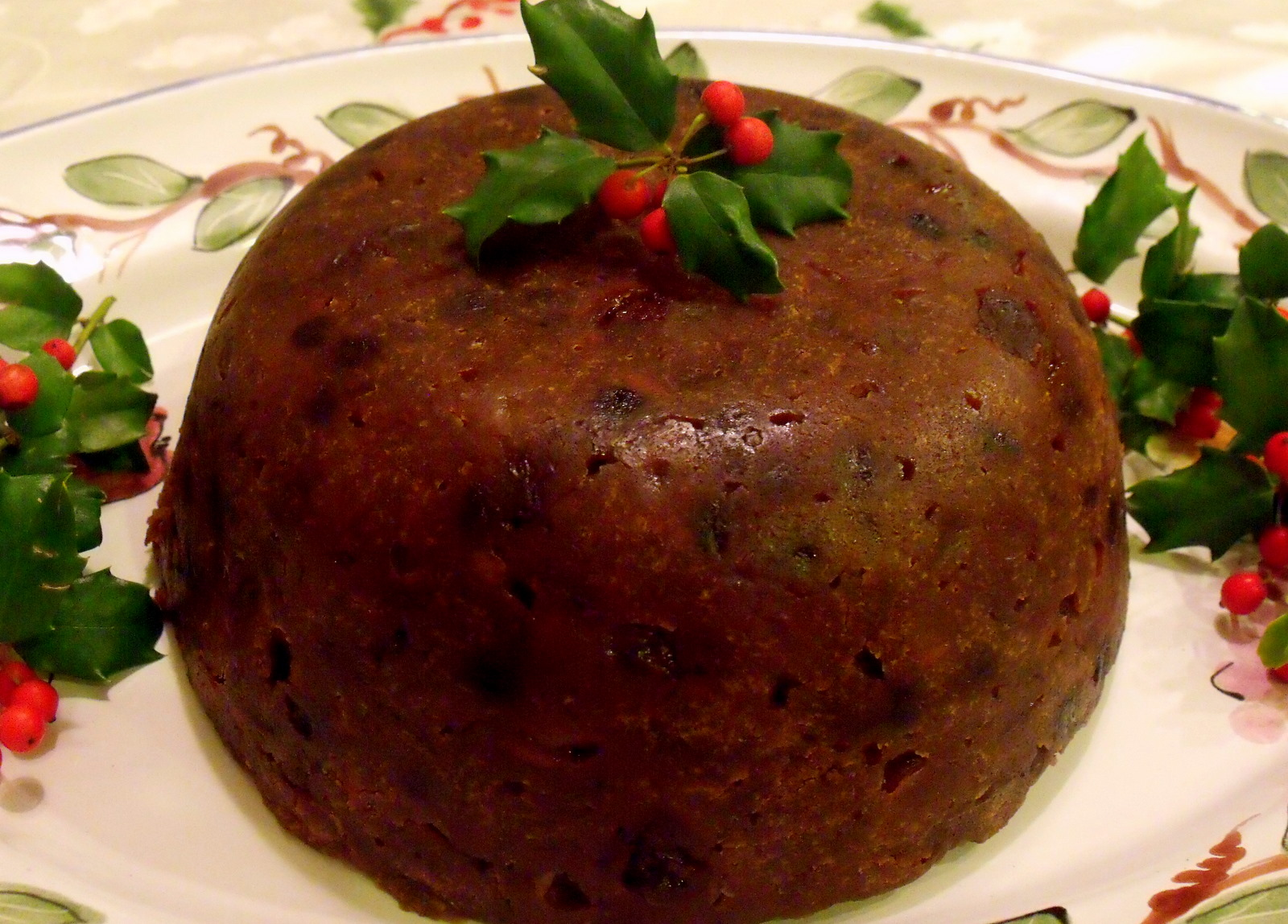 Old Fashioned Christmas Pudding