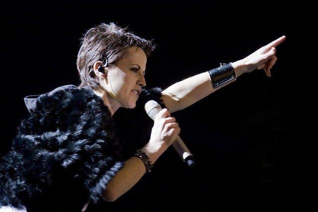 Dolores O'Riordan in concert