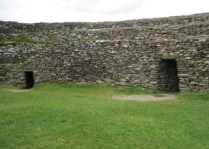 Inner chambers in ring fort.