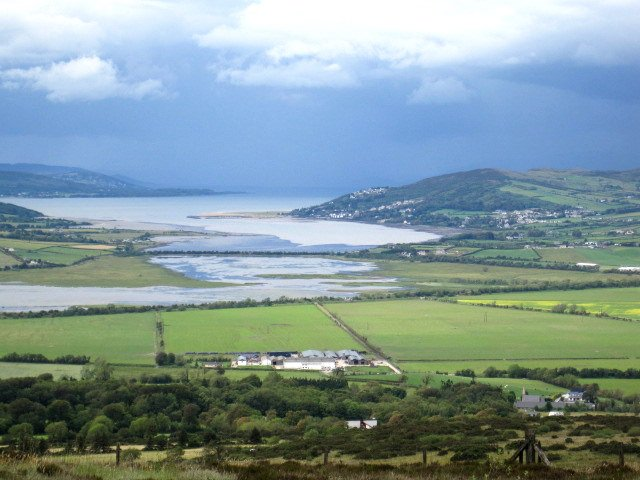 Lough Swilly, Lough Foyle and Inch Island
