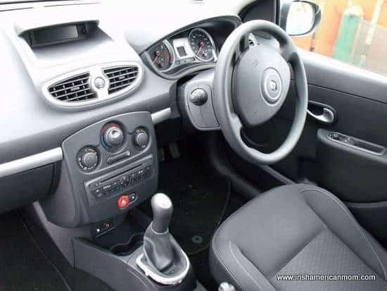 Interior of Irish Car