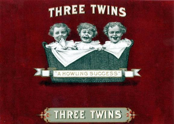 Vintagerio - three twins - triplets