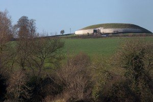 Ancient burial chamber at Newgrange County Meath