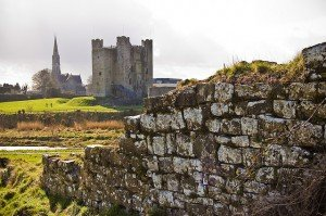 The medieval keep or castle at Trim