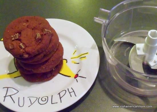 6 Dark Chocolate Brownie Cookies For Truffles