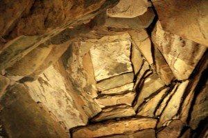 Ceiling of inner chamber at Newgrange