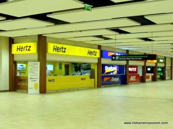 Car Rental Counters At Dublin Airport