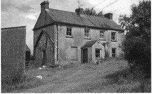 an old farmhouse in Ireland