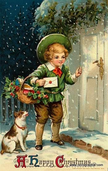 Christmas Door Knock
