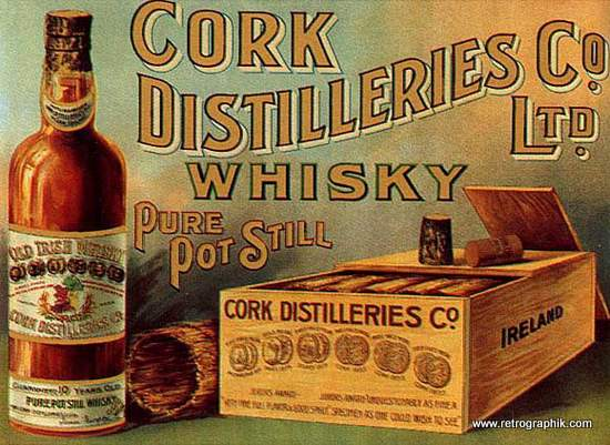 Cork Distilleries Whiskey
