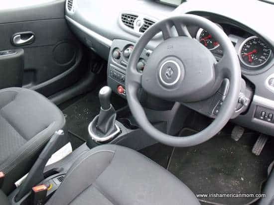 Irish Car with steering wheel on the right