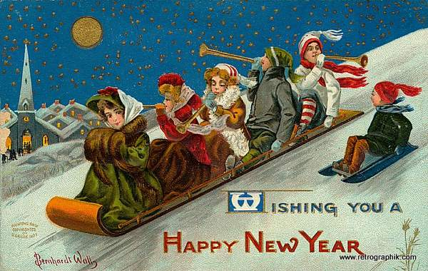 New Year's Sleigh Ride