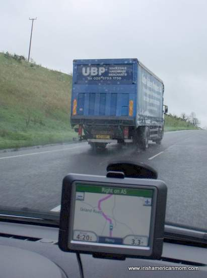 Sat nav or GPS in Ireland