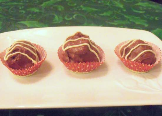 Three Truffles on a Plate