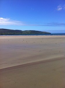 Inch beach in County Kerry Ireland