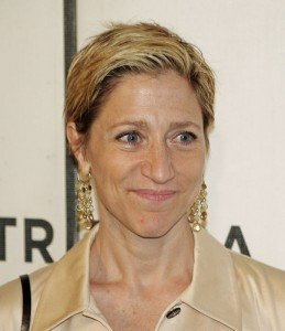 Close up shot of actress Edie Falco