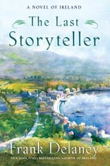 Book Cover with Irish town for The Last Storyteller by Fran