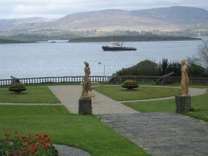 Looking across Bantry Bay from the grounds of Bantry House