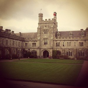 The square at UCC in Cork city