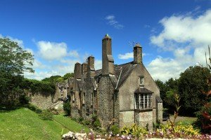 Old stone house called Myrtle Grove in Youghal County Cork