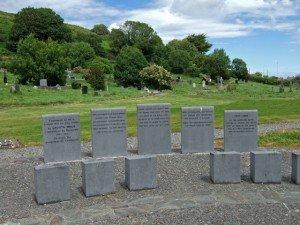 Famine memorial in Skibbereen County Cork