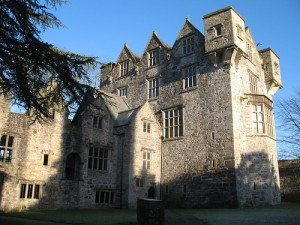 The front ediface of Donegal Castle in Donegal town Ireland