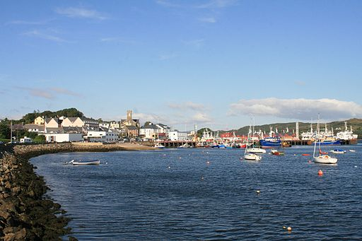 Boats in the harbour at Killybegs in Donegal