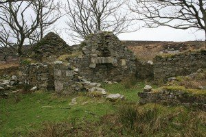 A derelict cottage in County Donegal Ireland
