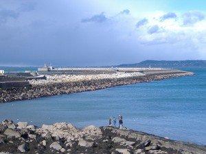 The pier in Dun Laoghaoire County Dublin Ireland