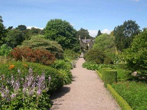 The manicured gardens at Rowallane House in County Down