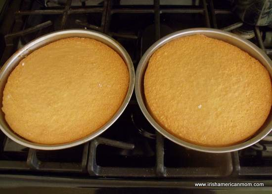 Cooked no butter sponge