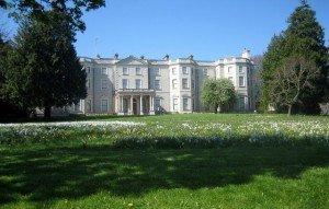 View of Farmleigh House in the Phoenix Park Dublin