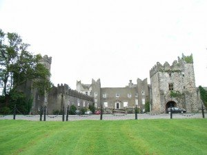 Front view of Howth Castle in north County Dublin