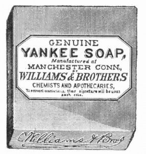 Vintage clipart - Yankee soap