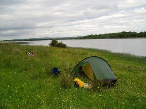 Camping On Trannish Island, Upper Lough Erne