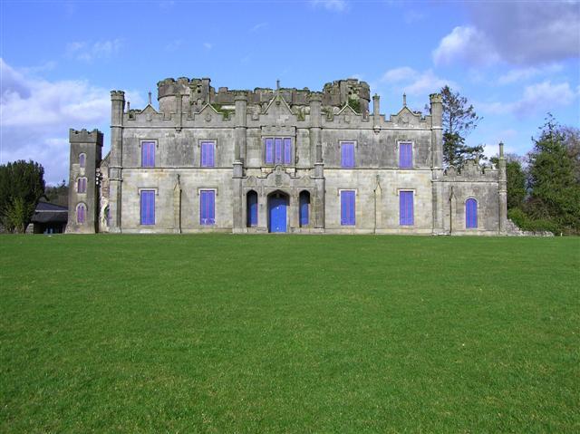 Necarne Castle in County Fermanagh Ireland