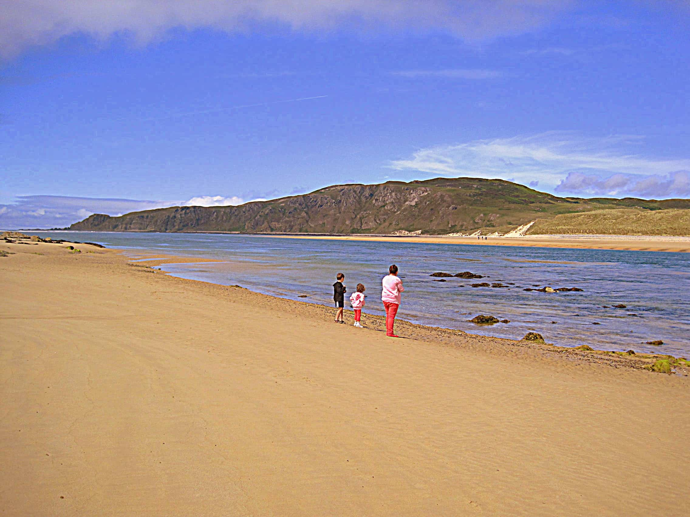 Doagh Beach On The Inishowen Peninsula