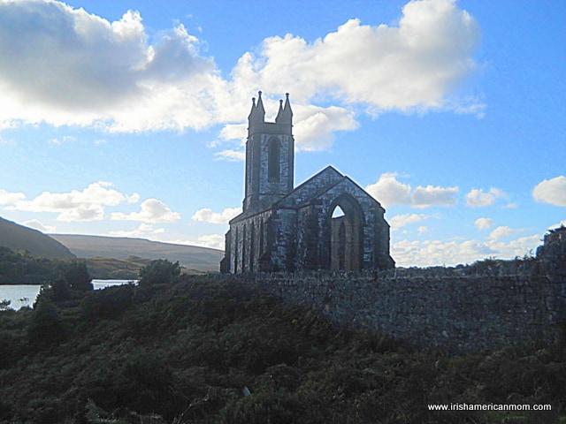 A church on a cloudy day