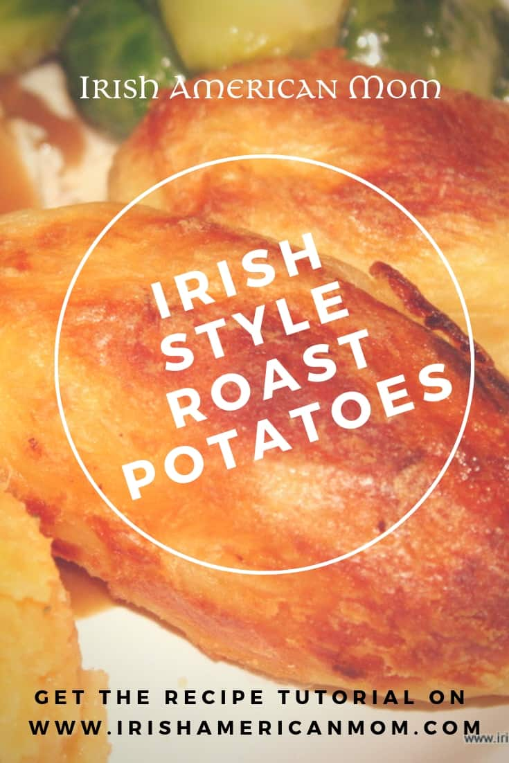 How to cook roast potatoes Irish style with a crispy outer crust
